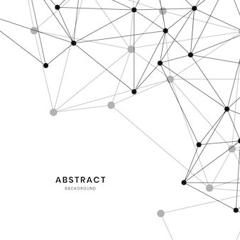 Witte neurale netwerkillustratie