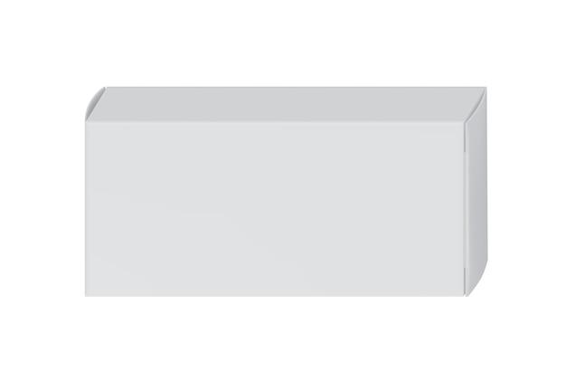 Witte pakketdoos voor blaar met pillen