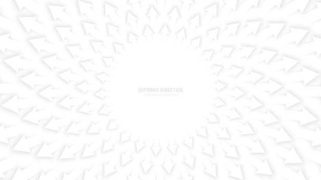 Witte pijlen abstracte achtergrond