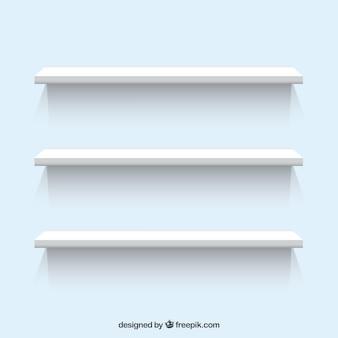 Witte planken