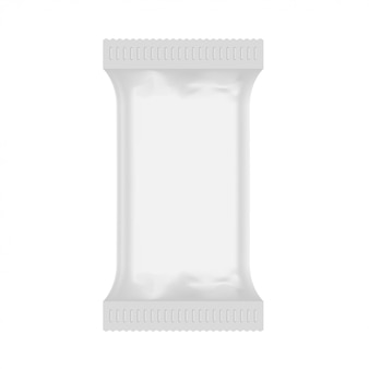 Witte plastic zakmodel