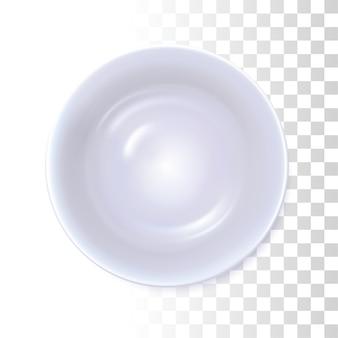 Witte soepschotel