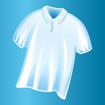Witte t-shirt pictogram f