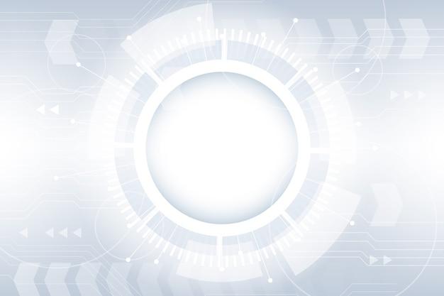 Witte technische achtergrond