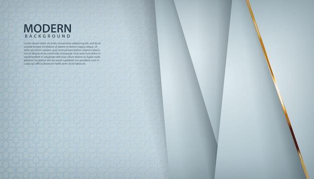 Witte textuur overlappende laag achtergrond