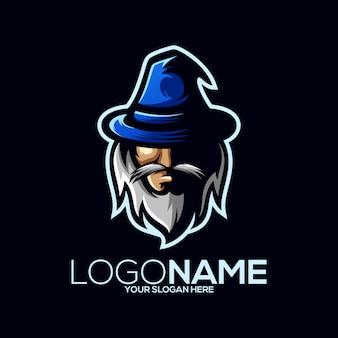 Wizard logo ontwerp