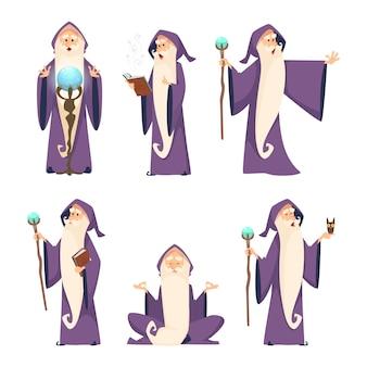Wizard mannelijke set