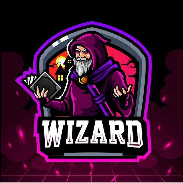 Wizard mascotte.