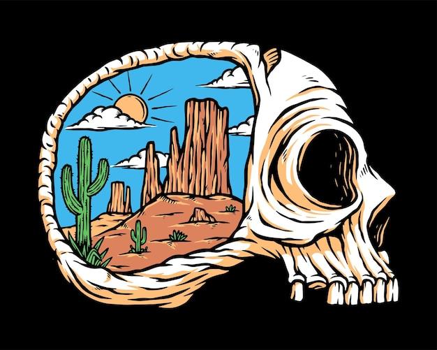 Woestijn in mijn gedachten