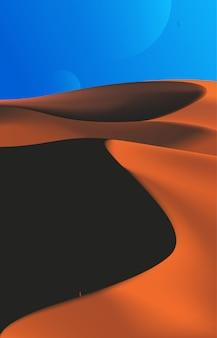 Woestijnlandschap art