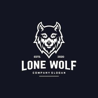 Wolf logo ontwerp