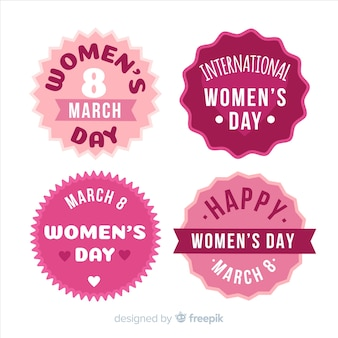 Womans day label collectie