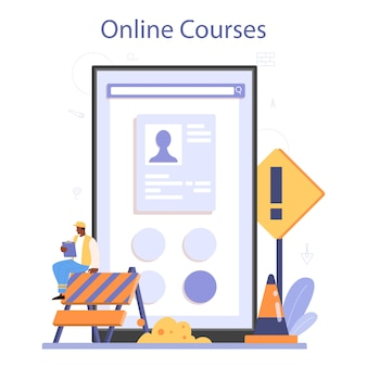 Woningbouw online service of platform
