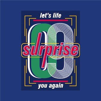 Woord slogan grafische typografie stadsontwerp voor klaar print t-shirt