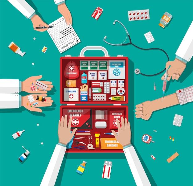 Workflow van artsen.