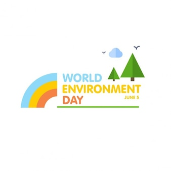 World environment day landschap banner