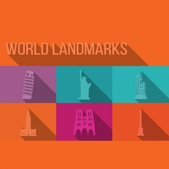 World landmarks ontwerp
