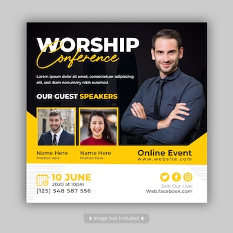 Worship conference social media event bericht
