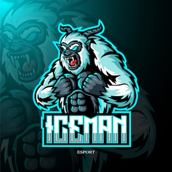Yeti mascotte logo