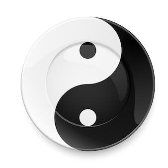 Yin yang bord