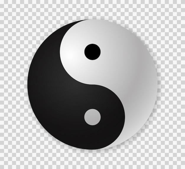 Yin yang-pictogram