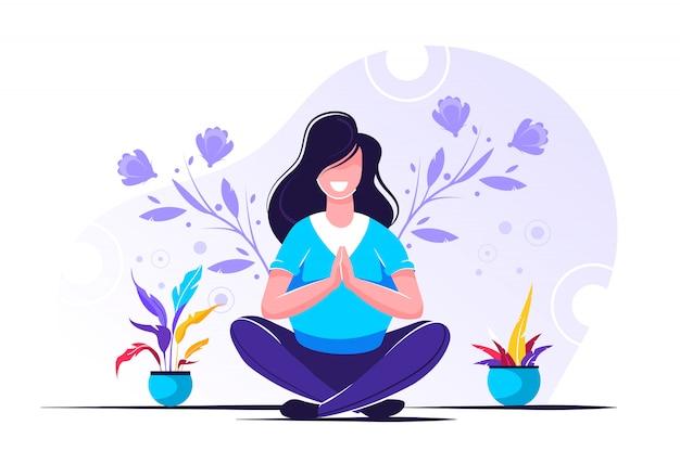 Yoga gezondheidsvoordelen van lichaam, geest en emoties