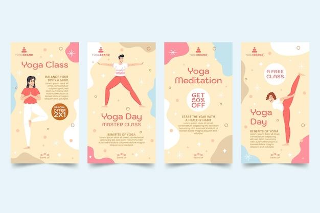 Yoga instagram verhalen