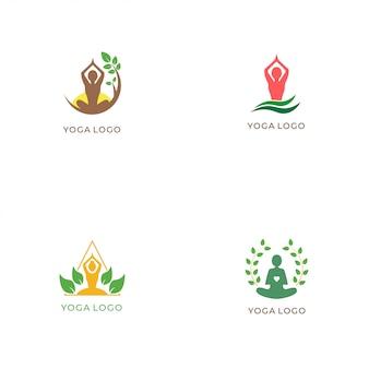 Yoga logo collectie