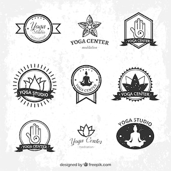 Yoga logo collectie