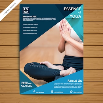Yoga sjabloon folder