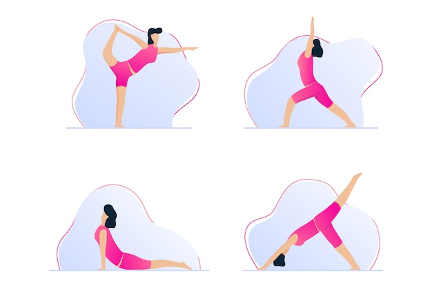 Yoga vormt voor pijnverlichting