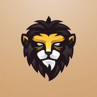 Young lion-logo