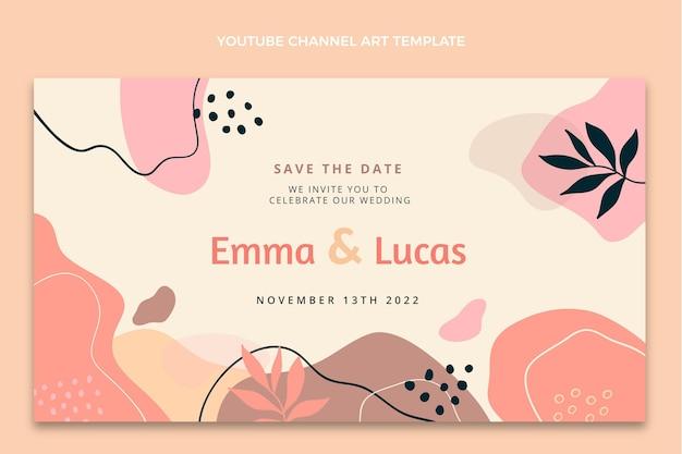 Youtube-cover voor aquarel abstracte bruiloft