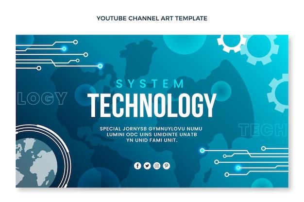 Youtube-kanaal met minimale technologie