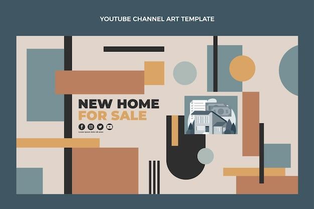 Youtube-kanaal voor geometrisch onroerend goed