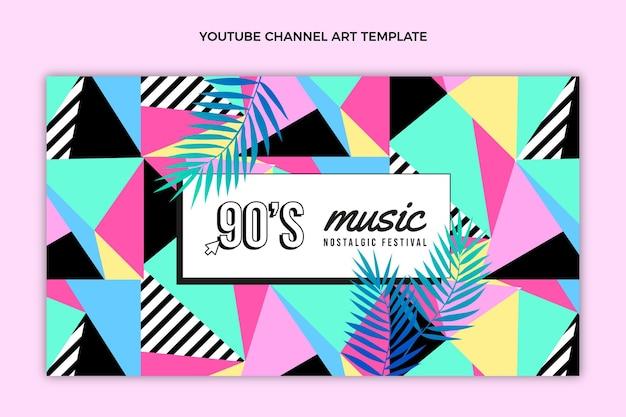 Youtube-kanaal voor muziekfestivals uit de jaren 90