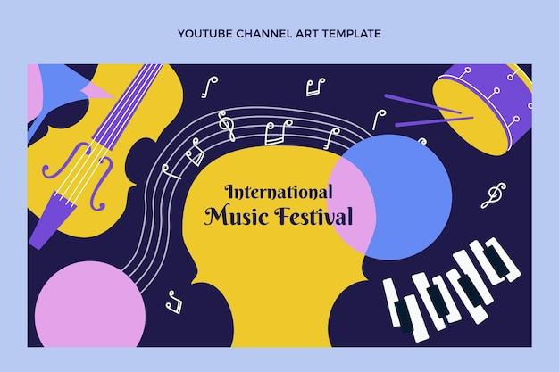 Youtube-kanaal voor plat muziekfestival