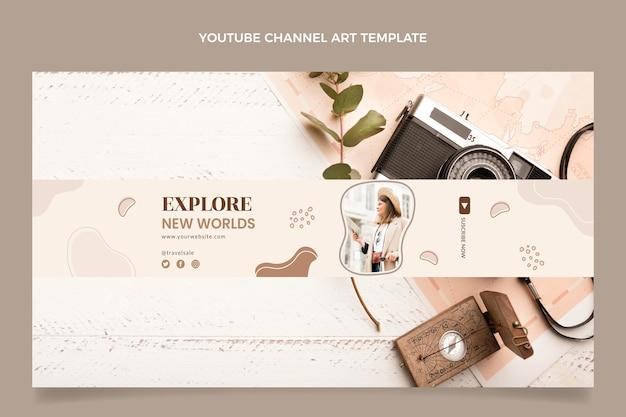 Youtube-kanaal voor plat reizen