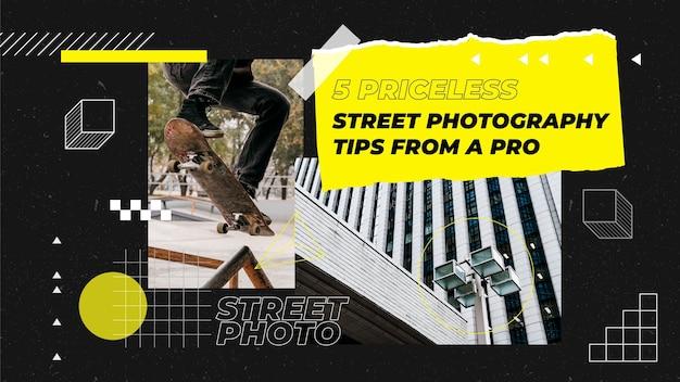 Youtube-kanaalafbeeldingen voor professionele fotografie