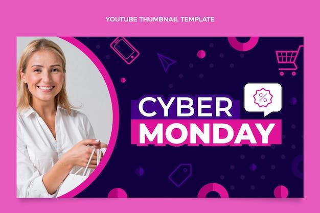 Youtube-thumbnail van platte cybermaandag