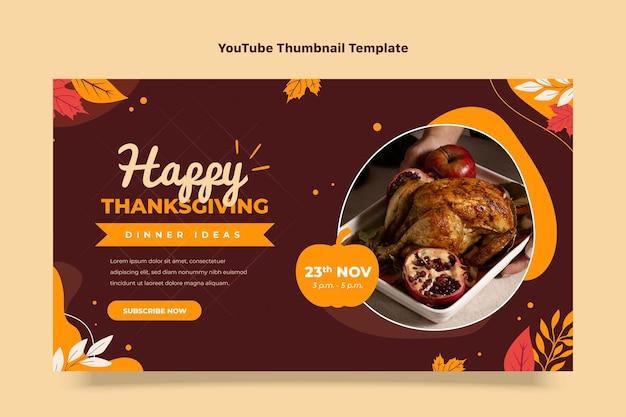 Youtube-thumbnail voor platte thanksgiving