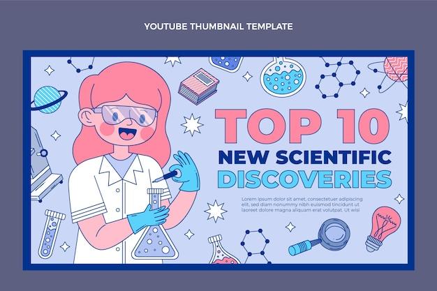 Youtube-thumbnail voor platte wetenschap