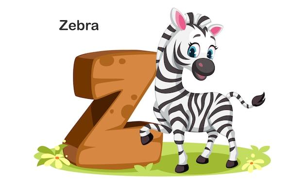 Z voor zebra
