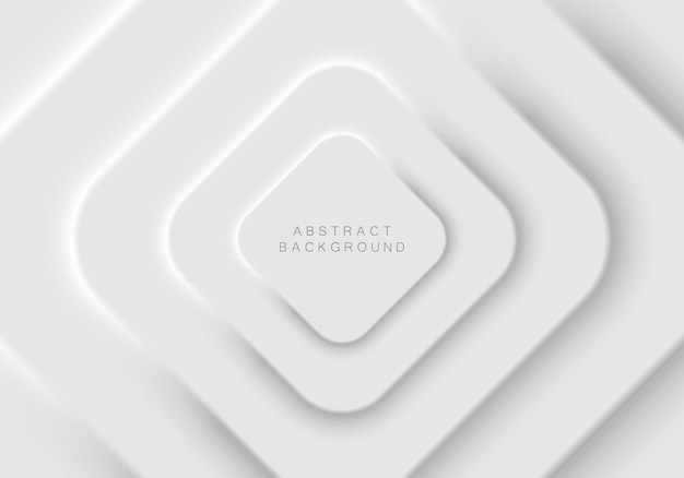 Zacht, duidelijk en eenvoudig futuristisch ontwerp van vierkante vormelementen