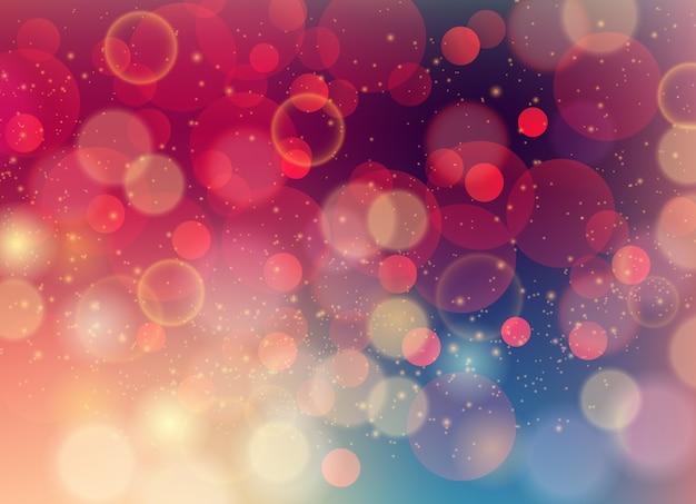 Zacht gekleurde abstracte achtergrond met bokeh voor ontwerp