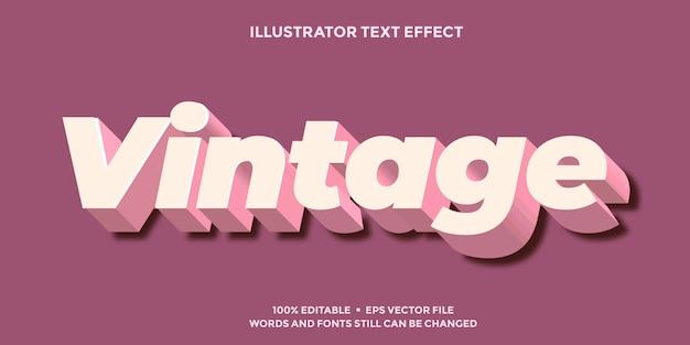 Zacht roze teksteffect