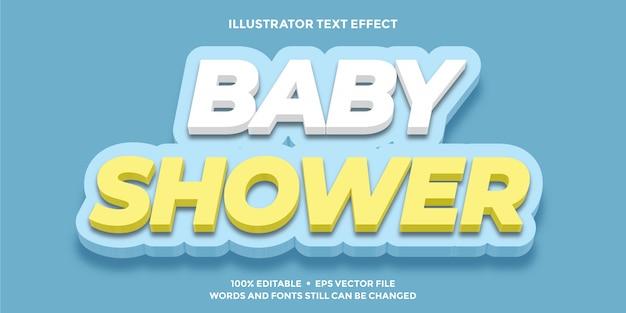Zacht wit geel blauw teksteffect
