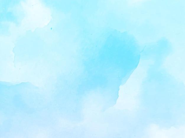 Zachte blauwe aquarel achtergrond