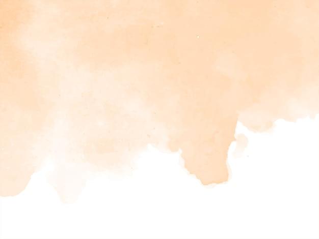Zachte bruine kleur aquarel ontwerp achtergrond