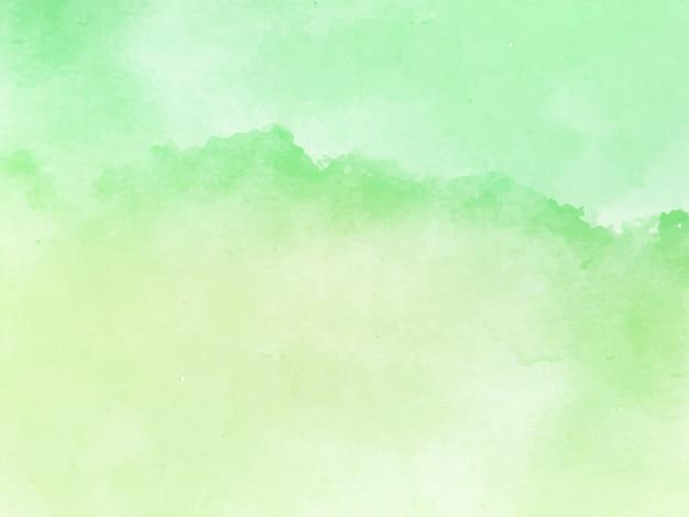 Zachte groene aquarel textuur elegante achtergrond